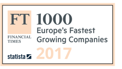 Financial Times - 1000 Europes fastest growing companies